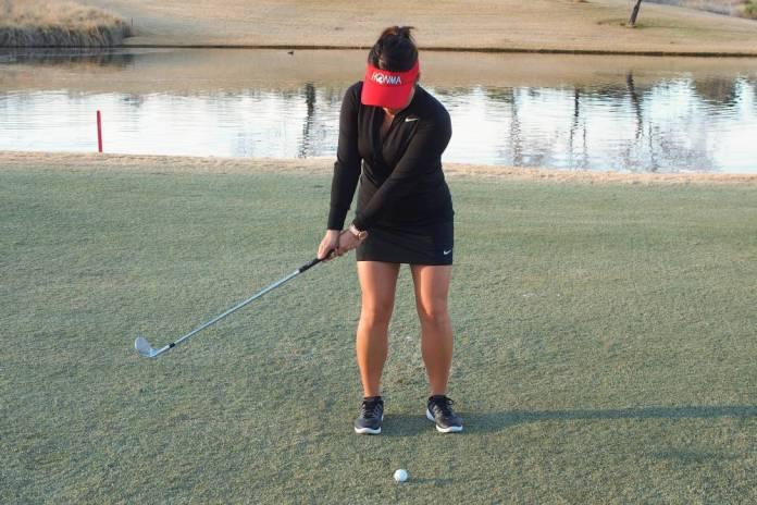 Cathy Kim - PGA - Pitch it like you putt it - Womens Golf