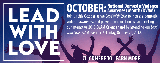 Domestic Violence Awareness Month 2018