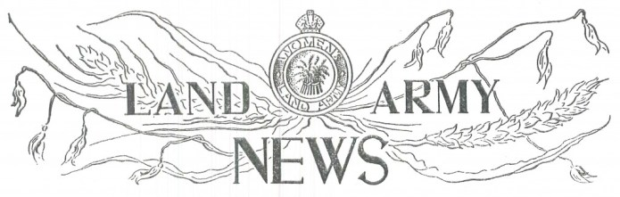 Women's Land Army News Logo