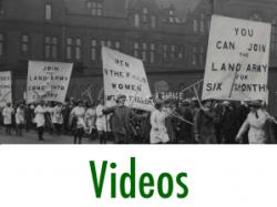 First World War Women's Land Army Archive: Videos