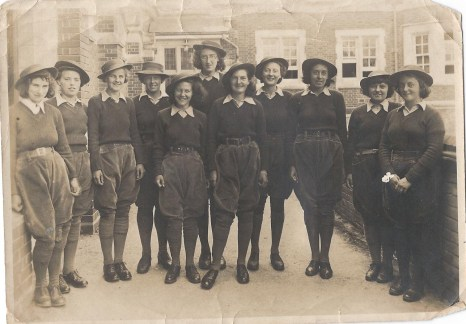 Betty and her fellow students at Seale-Hayne Agricultural College in Newton Abbott, Devon Source: Helen Van Dongen
