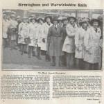 WW1 Article: Birmingham and Warwickshire Rally
