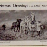 WW1: Christmas Greetings to the Land Army, 1919