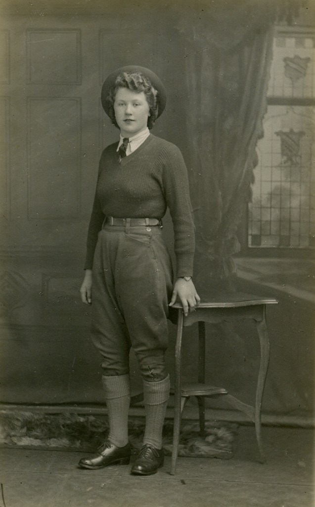 Old Warden land girl Cynthia Linford