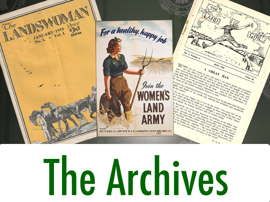 Women's Land Army Archives