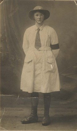 Martha Bagnall, First World War Land Girl