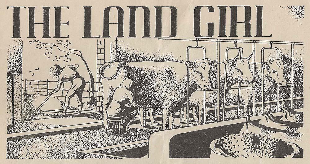 The Land Girl Image January 1944