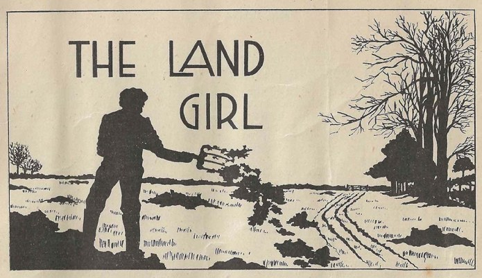 The Land Girl Image January 1945