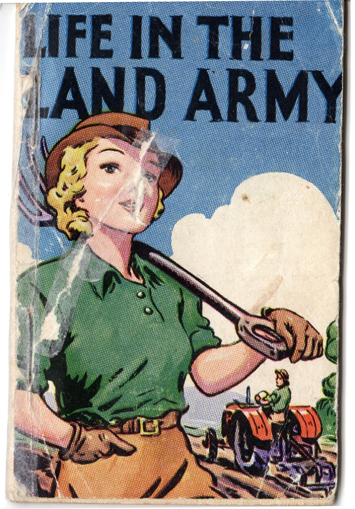 Life in the Land Army Front Cover
