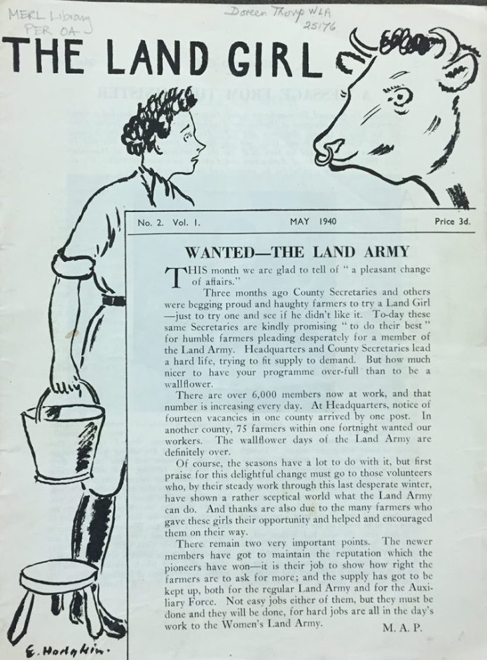 May 1940 edition drawn by E.Hodgkin.