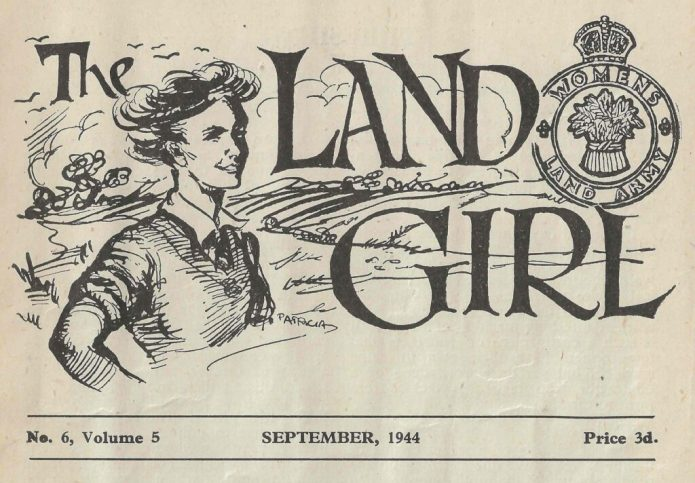 The Land Girl September 1944 front cover