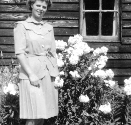 Land Girl Rose on 16 August 1945