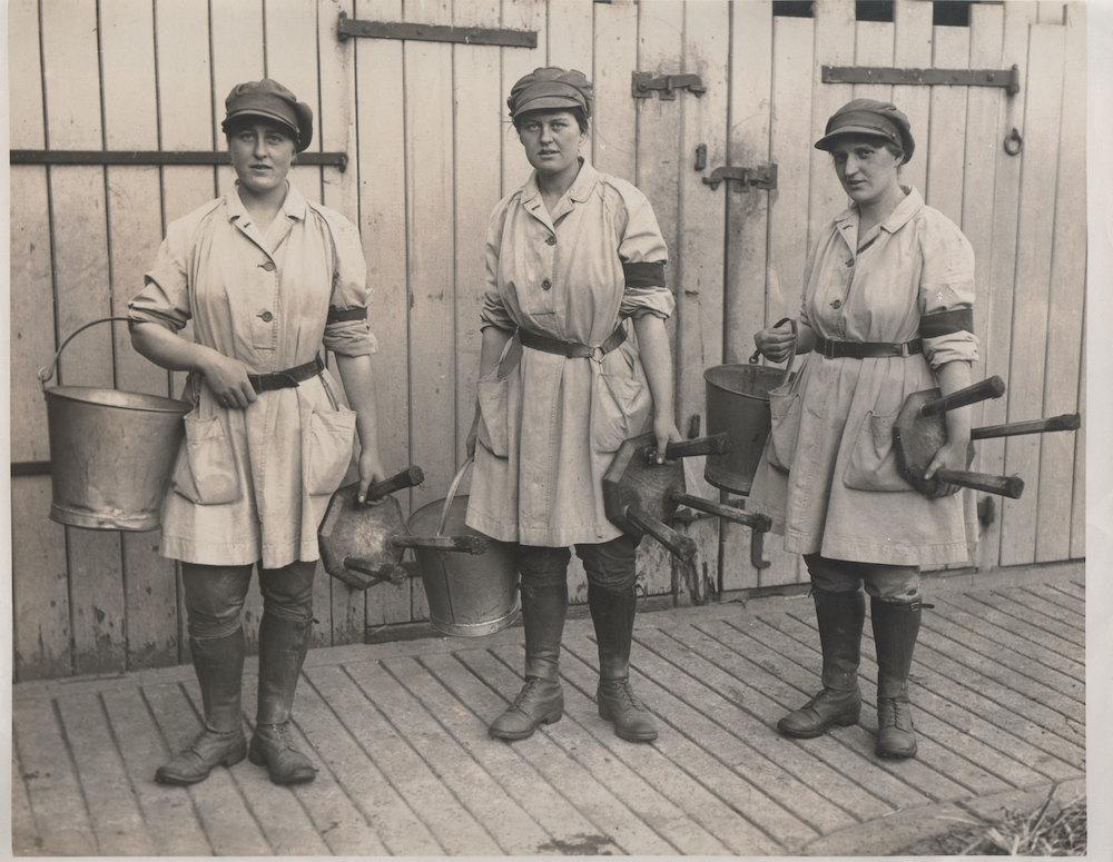 Phyllis, Hilda and Marjorie