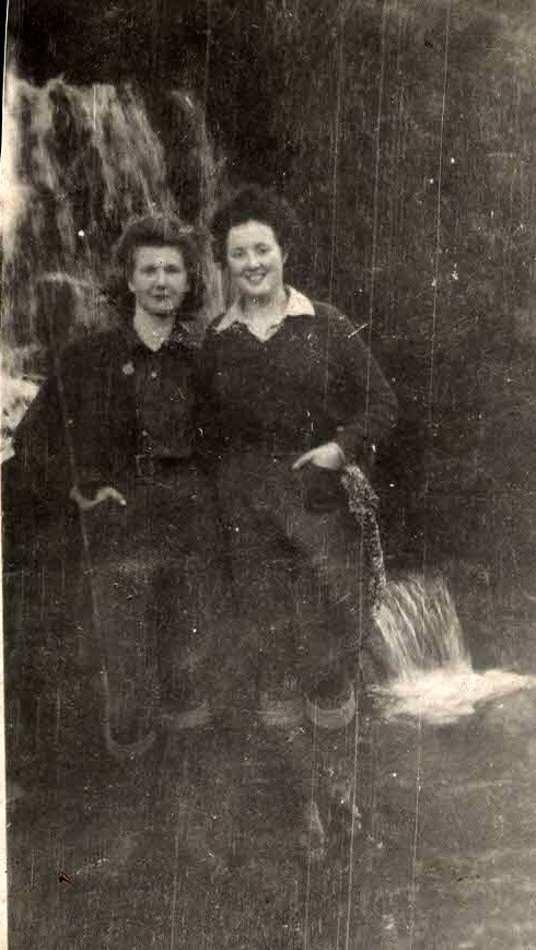 Joan Collingwood and Mollie Mitford