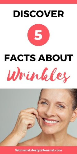 woman with a few wrinkles in face