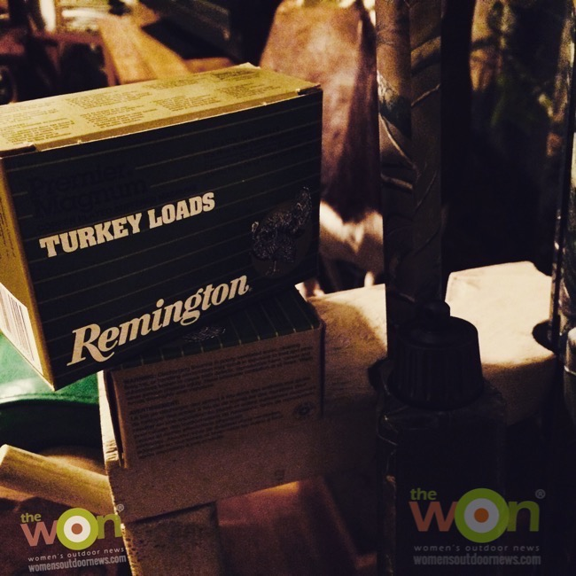 women's turkey hunt remington turkey shotshells