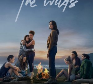 The Wilds TV series that features a group of teenage girls who are castaway.