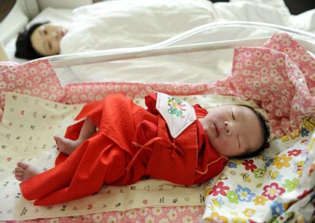 Chinese Abandoned Girls Baby