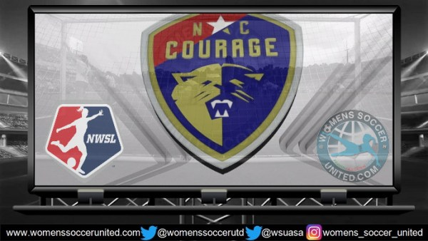 North Carolina Courage lead the NWSL 13th May 2018
