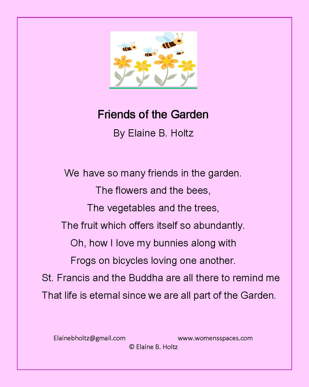 Friends of the Garden by Elaine B. Holtz