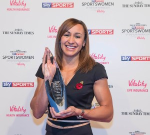 Sportswomen Of The Year Awards 2015 Sportswomen of The Year- Jessica Ennis-Hill The Sunday Times and Sky Sports Sportswomen of the Year Awards in association with Vitality. ©Sky Sports / Andrea Southam