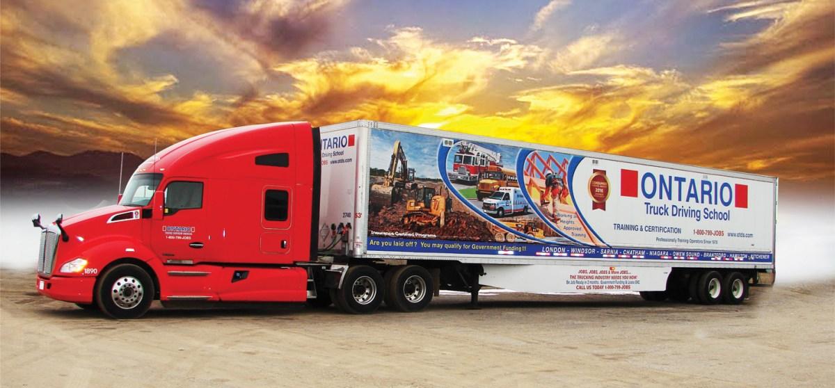 Ontario Truck Driving School Wtfc