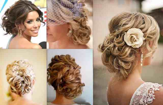 side bun hairstyles for wedding brides and bridesmaid 2018