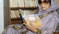 Krishna Sobti the grand dame of Hindi literature.