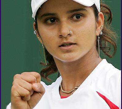 Inspiring Woman of the day - Sania Mirza