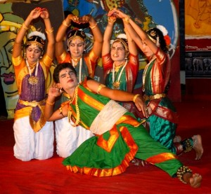 Dance by visually impaired people in India