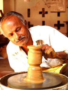 Hari The Potter at Dakshin Chitra