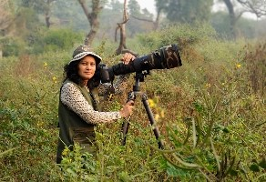 Rathika Ramasamy: Professional wildlife photographer in India