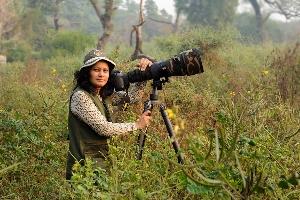 Rathika Ramasamy: Professional wildlife photographer in India