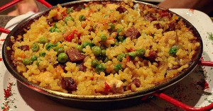 Quick weeknight dinner: Paella