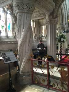 The Apprentice Pillar - Roslin Chapel