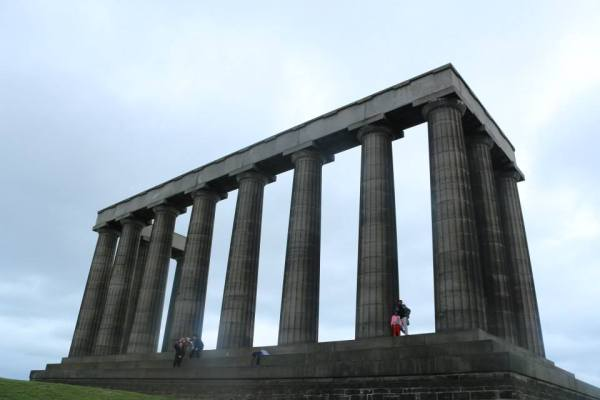 The National Monument on the Calton hills...