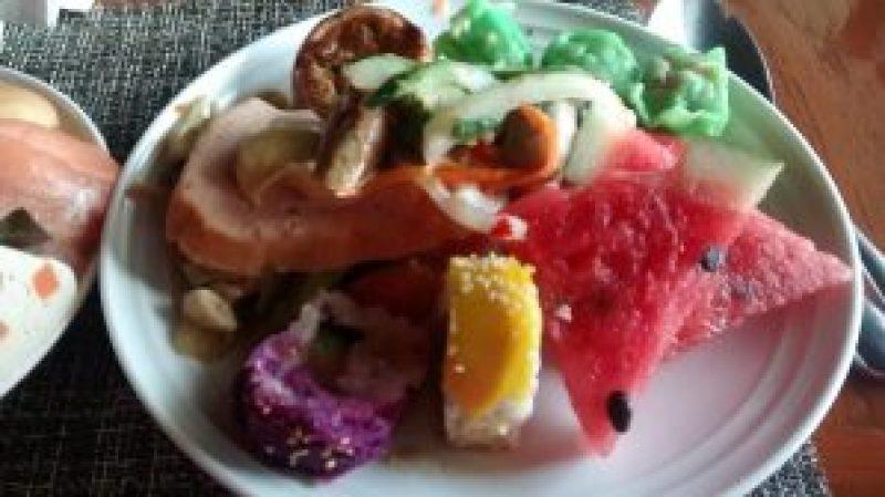 The 'green' pork dumplings