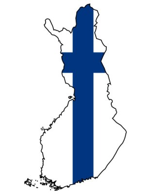 finland_flag_map
