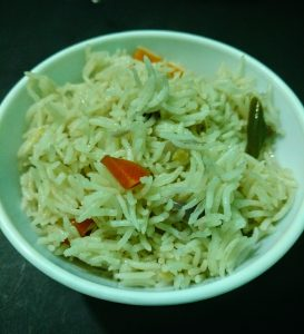 How to Cook Simple Vegetable Pulao in Pressure Cooker