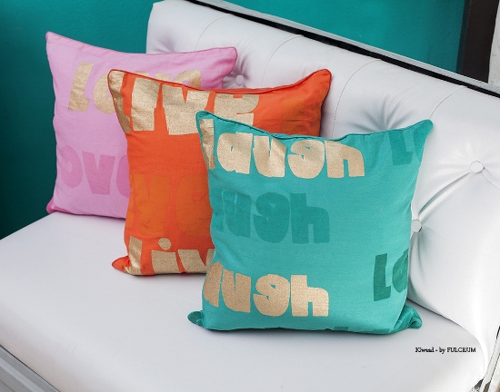 Cotton - Silk cushions