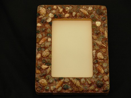 Shell frame handicraft