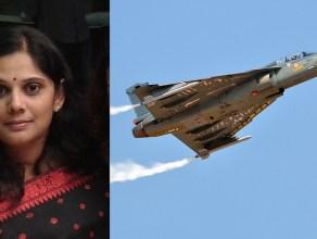 Sreeja Nair ex-officer Airforce