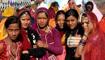 women in Pushkar