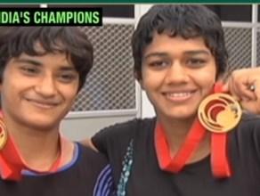 Indian Women Wrestlers