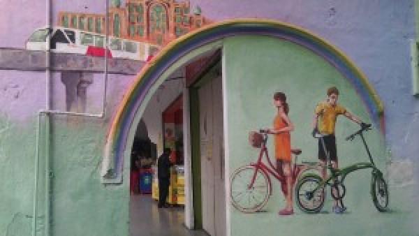 Photo by Biplabi Shrestha- a street art in Kuala Lumpur