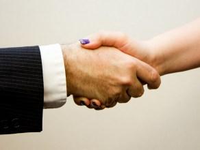 your handshake