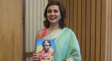 book on Indira Gandhi