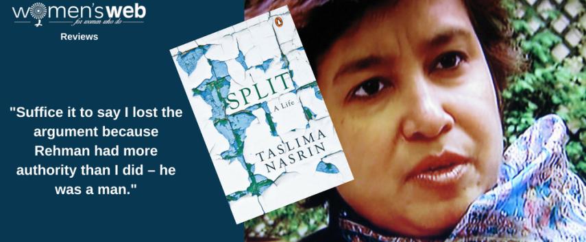 Taslima Nasrin's memoir