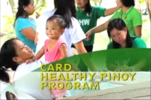 VIDEO FEATURE: CARD Healthy Pinoy Program