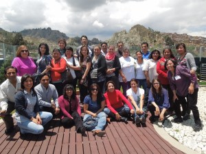 Management Development Training Program Attendees from Crecer (Bolivia)